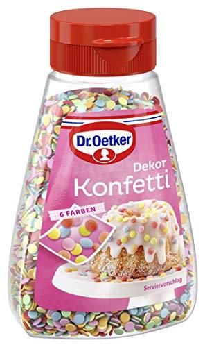 Dr. Oetker Dekor Konfetti, 4er Pack...