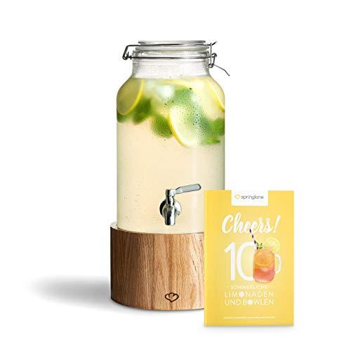 Glas Getränkespender 5 l Greta mit...