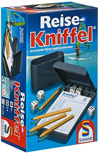 Schmidt Spiele 49091 Reise-Kniffel...
