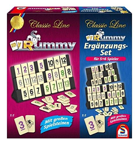 Schmidt Spiele 49289 - Rummy mit...