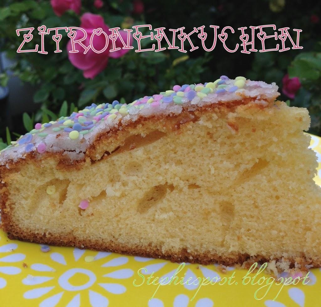 Zitronenkuchen Der Hit Nicht Nur Fur Kindergeburtstage Einfach