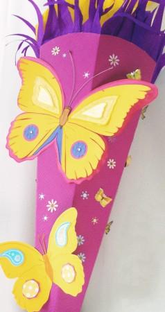 Schultuete-Schmetterling
