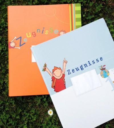 Geschenke zur Einschulung: Zeugnismappe