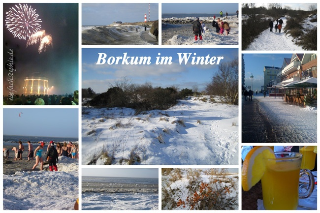 Borkum, Borkum - immer wieder Borkum. Auch im Winter zauberhaft
