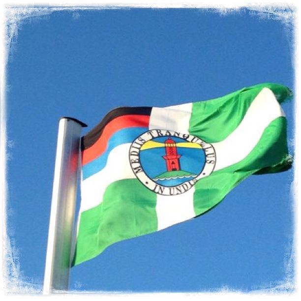 Borkum, Borkum - immer wieder Borkum. Flagge
