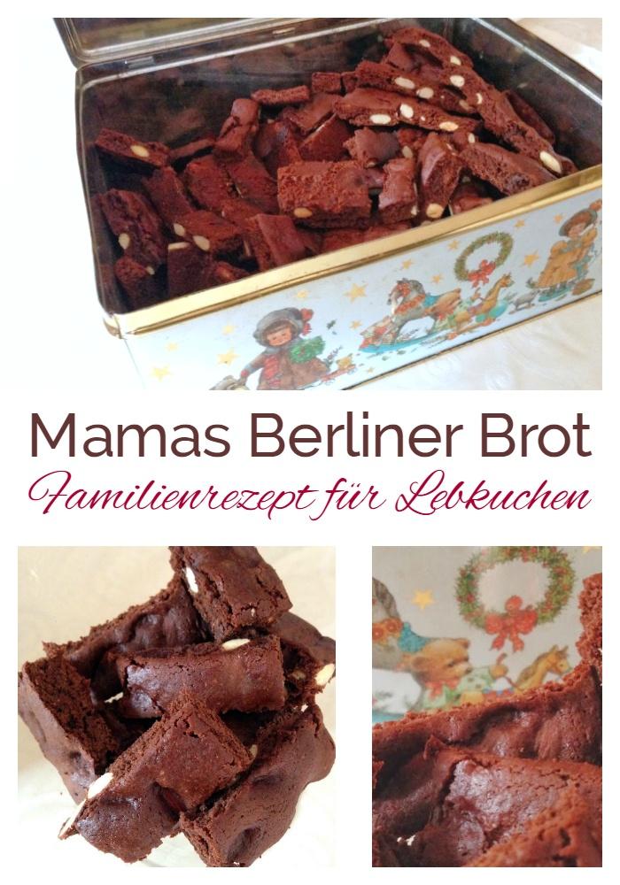 Berliner Brot Weihnachtsgebäck.Mamas Legendäres Berliner Brot Einfach Stephie