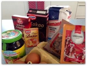 Die Zutaten für Berliner Brot nach Rezept meiner Mutter