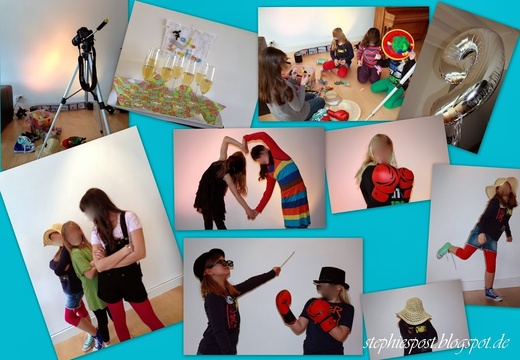 kindergeburtstag f r gro e m dchen fotoshooting party einfach stephie. Black Bedroom Furniture Sets. Home Design Ideas