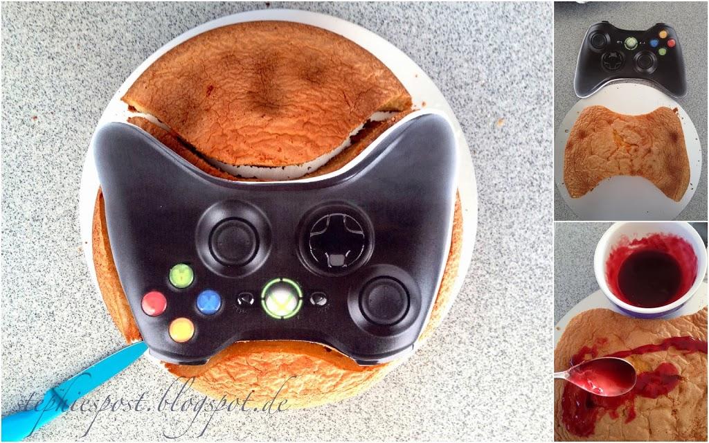 Geburtstagskuchen Xbox Controller