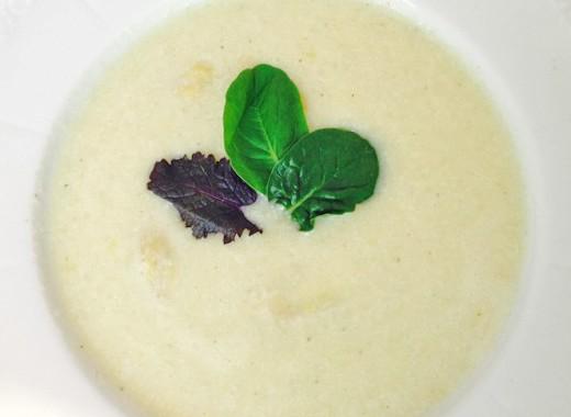 Spargelcremesuppe vegan und unglaublich gut
