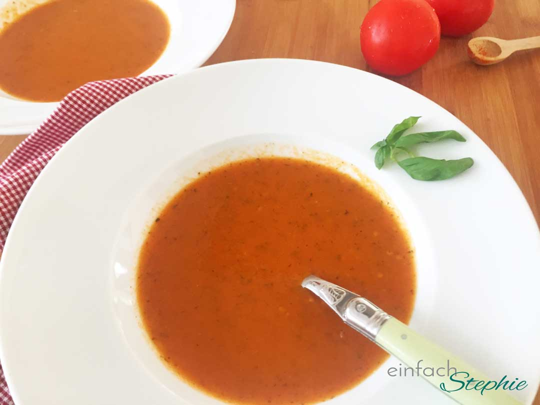 Tomatensuppe low carb