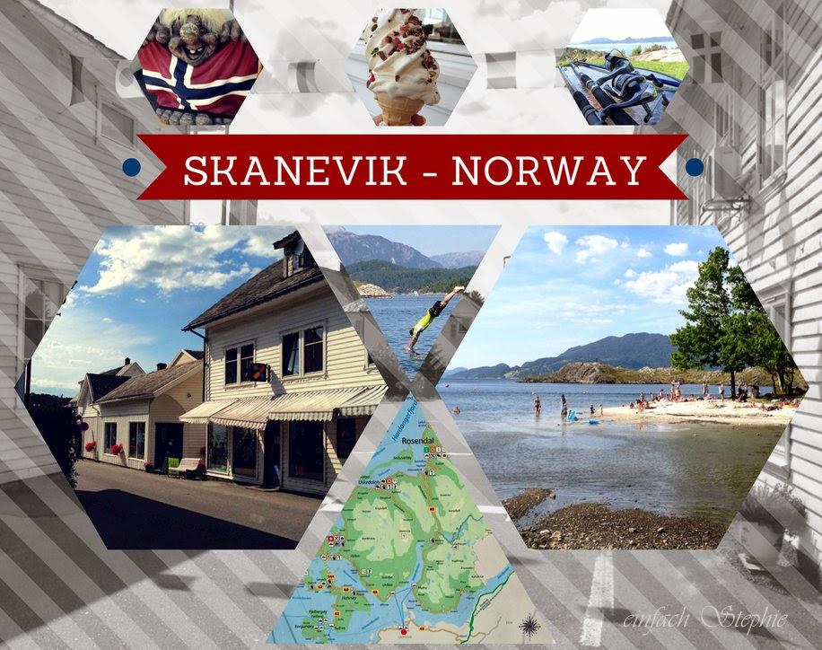 Norwegen am Fjord - Skanevik