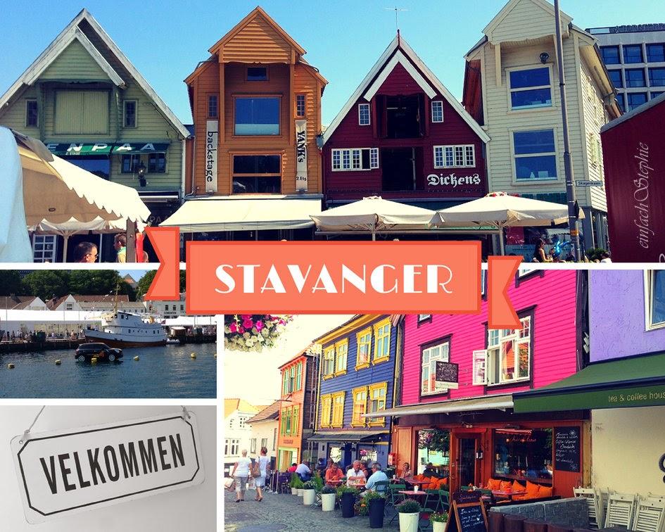 Norwegen am Fjord - Stavanger