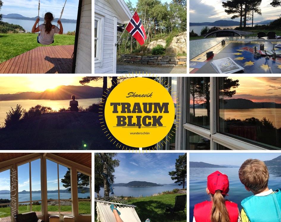 Norwegen am Fjord - Ferienhaus in Skanevik