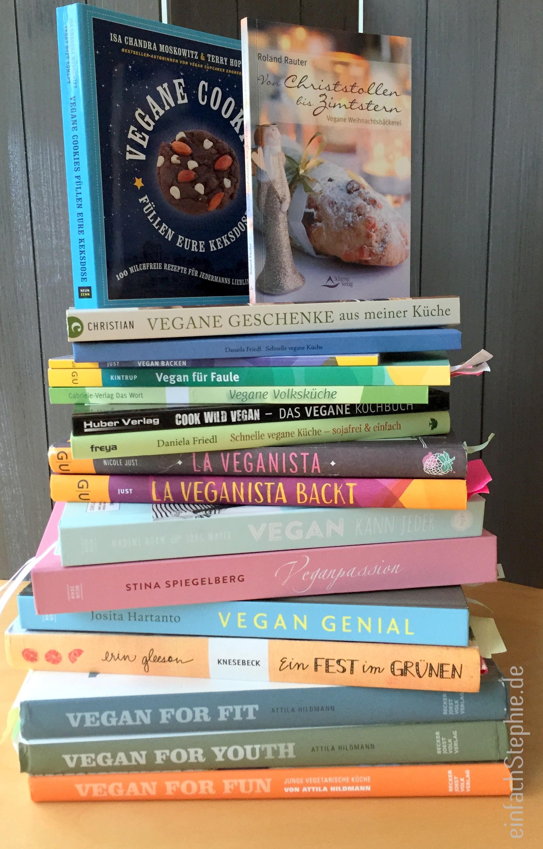 Vegane Kochbücher – Meine Favoriten 2014 ⋆ einfach Stephie