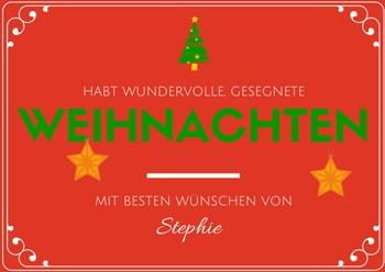 liebe weihnachtsw nsche einfach stephie