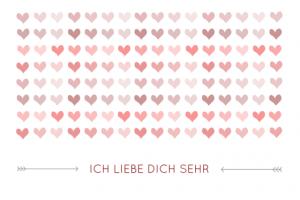 Wie Der Zufall Es Wollte, Sind Es 14 Karten Zum Ausdrucken Geworden, Die  Ihr Per Klick Auf Die Gewünschte Valentinskarte Einfach Auf Festen Karton  Druckt.