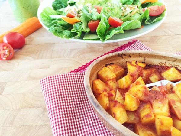 - eine Mittagsration für Veganes Basenfasten -