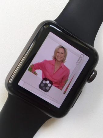 Fotos auf der Apple Watch