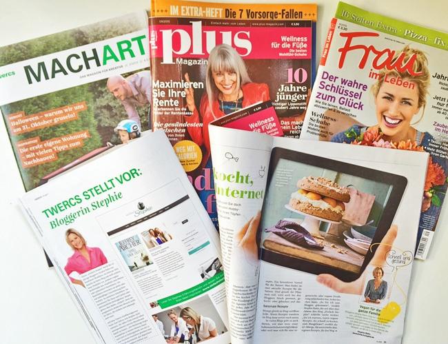 Stephie in Printmedien