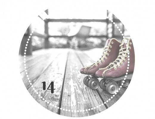 Sport-Adventskalender Türchen Nr. 14. Rollschuhe