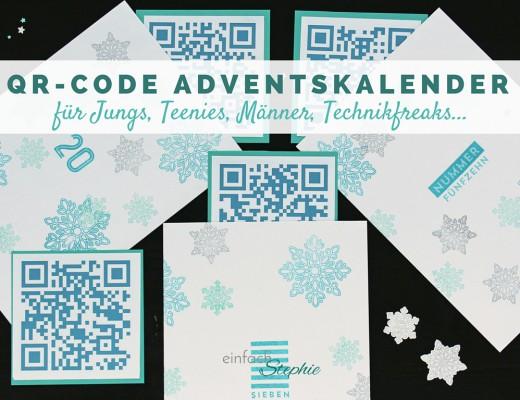 QR-Code Adventskalender Titel