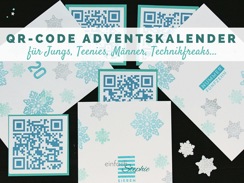 qr code adventskalender f r teenager jungs einfach stephie. Black Bedroom Furniture Sets. Home Design Ideas