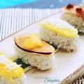 veganes Sushi selbst machen: Rezepte und Ideen. Süße Variante