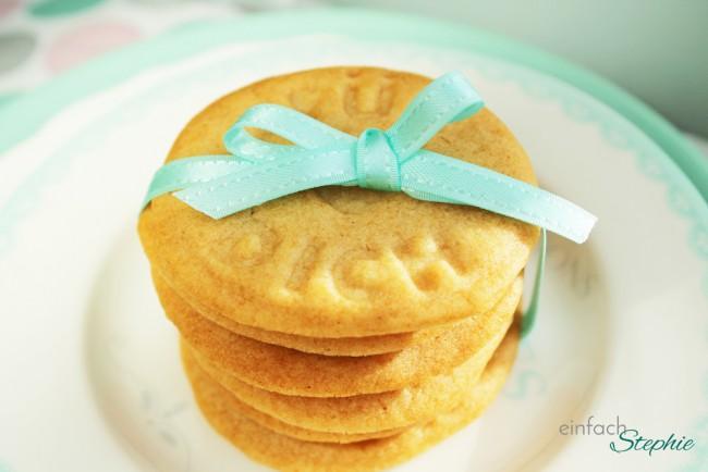 Karamell Kekse ohne Ei