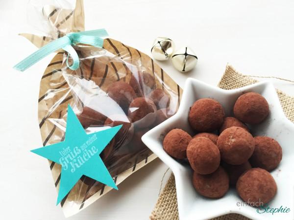 Marzipankartoffeln einfach selbst machen - verpackt als Geschenk