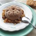 Spekulatius-Eis vegan mit Bratapfelsauce - Foto Bratapfelsoße