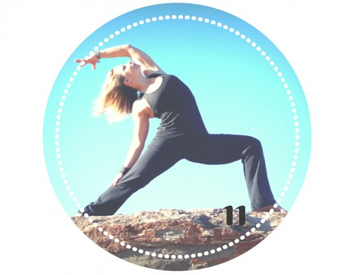 Sport-Adventskalender Türchen Nr. 11. Yoga