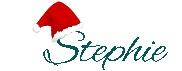 Unterschrift Stephie mit Nikolausmütze