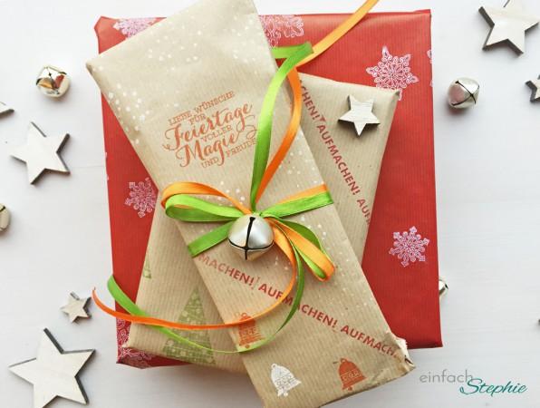 Geschenkpapier selber machen: Geschenke fertig verpackt