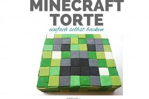 Minecraft Torte selbst backen und verzieren