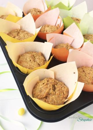 Rübli Muffins vegan. Frisch aus dem Ofen
