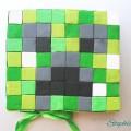 Minecraft Torte backen. Minecraft Creeper Kuchen