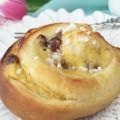 Hefeschnecken mit Pudding vegan. Beitragsbild