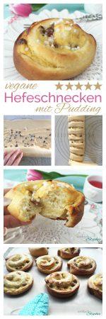 vegane Hefeschnecken mit Pudding von www.einfachstephie.de