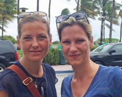 Ela und Stephie in Miami