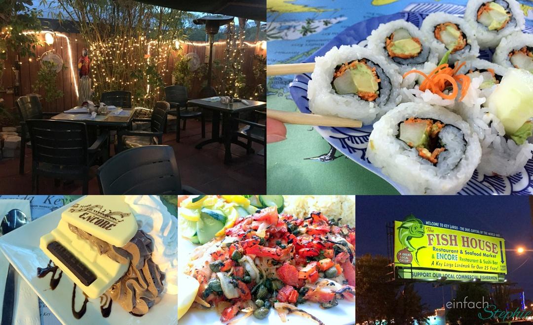 Florida mit Kindern: Abendessen in Key Largo