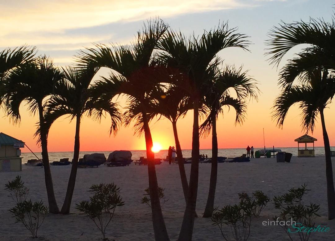 Florida mit Kindern: Sonnenuntergang in St. Petersburg