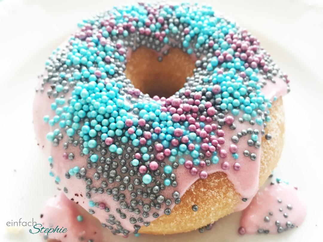 Geburtstagsparty für 12-jährige Mädchen: Donut mit Verzierung