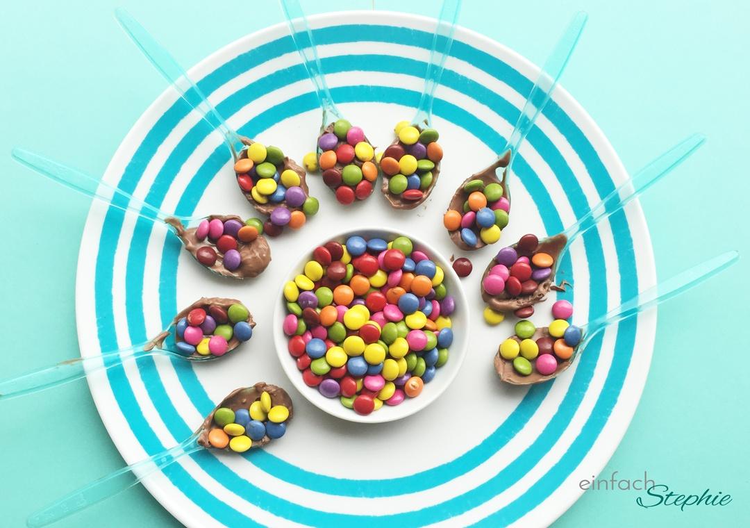 Geburtstagsparty für 12-jährige Mädchen: Schokoladen Löffel selbst gemacht