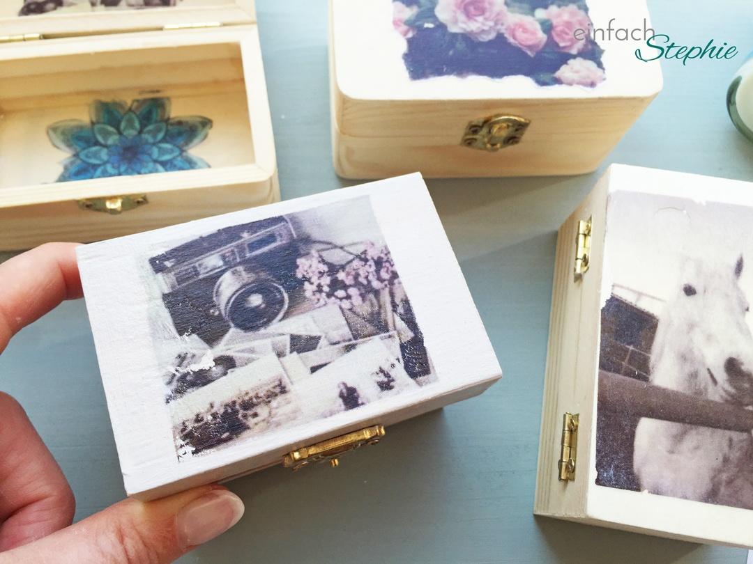 Geburtstagsparty für 12-jährige Mädchen: Tumblr Foto Transfer auf Holz