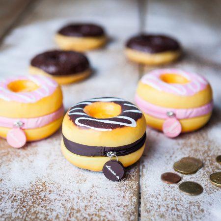 Kinder Sommerparty Geschenkidee Donut Geldbörse