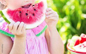Sommerparty Ideen zu Essen und Trinken: Wassermelone