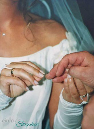 Bewegendes 2019. Hochzeitstag vor 20 Jahren
