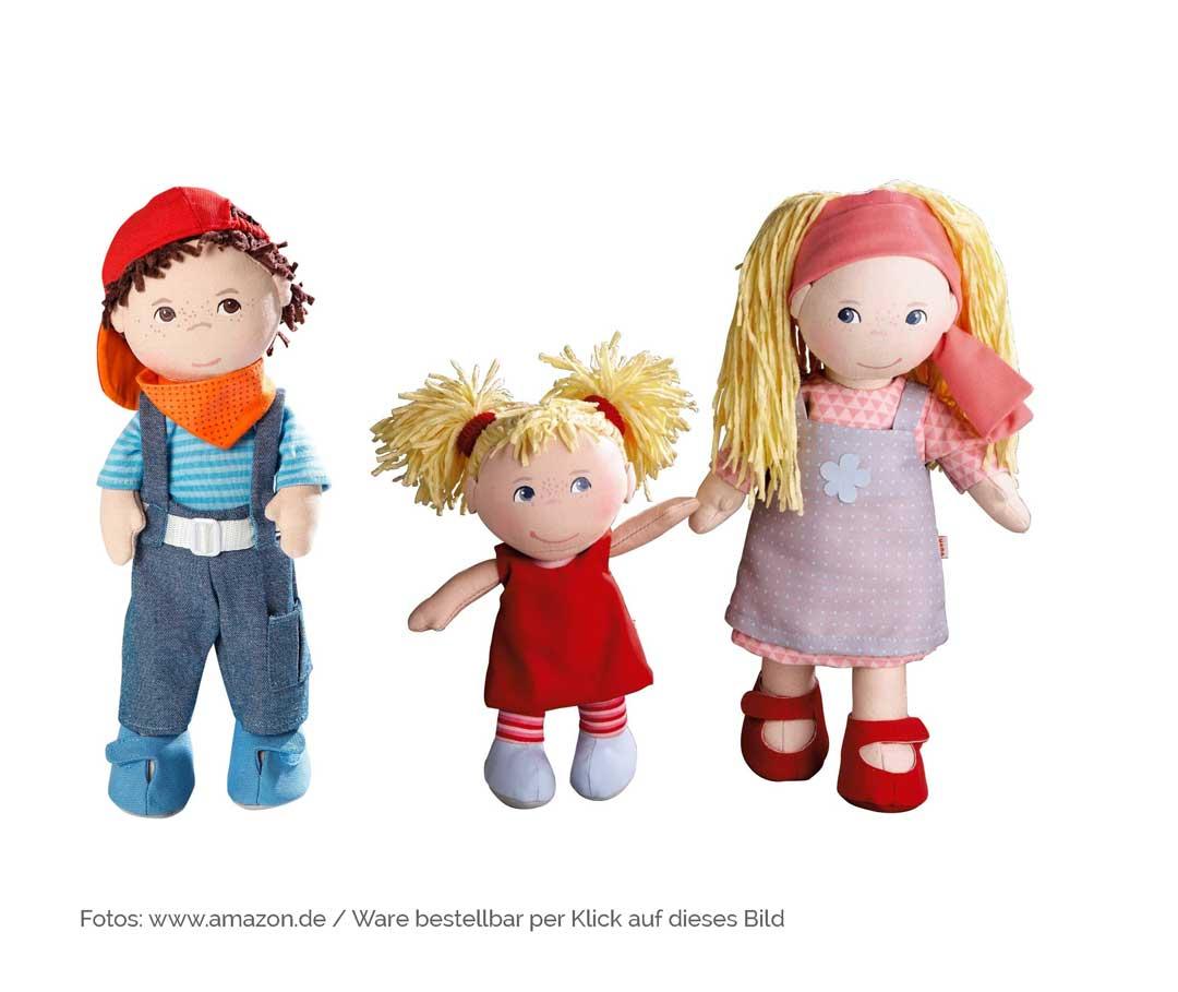 Die schönsten Geschenkideen zur Geburt: Haba-Puppen