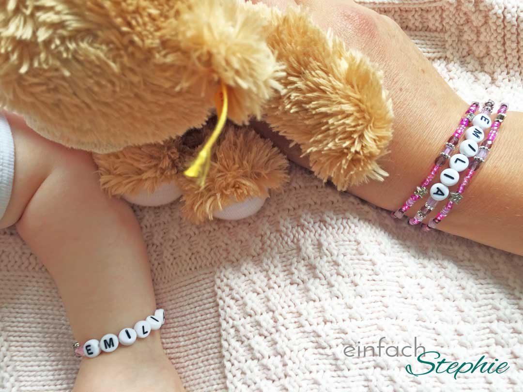 Die schönsten Geschenke zur Geburt: Mama-Tochter-Armband